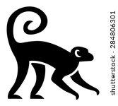 Vector Stylized Monkey...