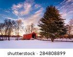 loy's station covered bridge ... | Shutterstock . vector #284808899