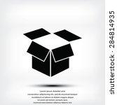 box vector icon | Shutterstock .eps vector #284814935