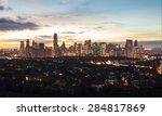 Beautiful View Of Manila City...