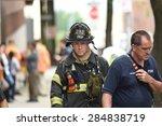 new york city   june 6 2015 ... | Shutterstock . vector #284838719