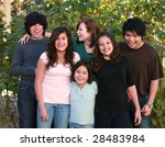 diverse group of multi ethnic...   Shutterstock . vector #28483984