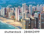 Aerial View Of Summer Resort...