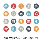 business concepts icon set   ... | Shutterstock .eps vector #284850074