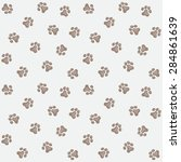 animal pets step vector... | Shutterstock .eps vector #284861639