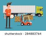 vector creative concept design... | Shutterstock .eps vector #284883764