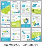 big set of infographics... | Shutterstock .eps vector #284888894