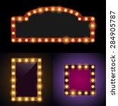 bulb frames | Shutterstock .eps vector #284905787