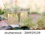 Kvass From Elder Flowers In A...