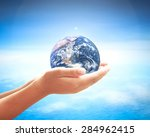 world environment day concept ... | Shutterstock . vector #284962415