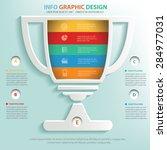 trophy info graphic design ...