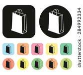 shopping bag icon. shopping...