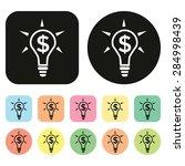 money icon. vector | Shutterstock .eps vector #284998439