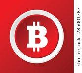 round white icon with bitcoin...