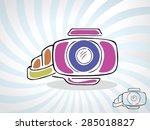 cartoon illustration of... | Shutterstock .eps vector #285018827