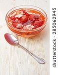 strawberries in syrup | Shutterstock . vector #285062945