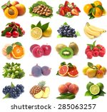 fresh fruit | Shutterstock . vector #285063257