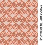 greece key ethnic seamless...   Shutterstock .eps vector #285100529