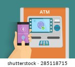 illustration of mobile access... | Shutterstock .eps vector #285118715