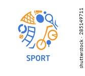 vector logo for children's... | Shutterstock .eps vector #285149711