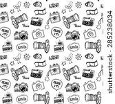 hand drawn vector illustration... | Shutterstock .eps vector #285238034