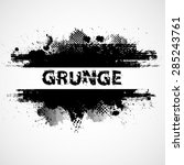 grunge background vector | Shutterstock .eps vector #285243761