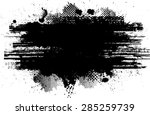 grunge urban background.texture ... | Shutterstock .eps vector #285259739