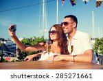 love  dating  people and... | Shutterstock . vector #285271661