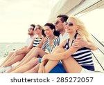 vacation  travel  sea ... | Shutterstock . vector #285272057