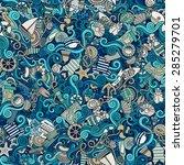 seamless abstract pattern... | Shutterstock .eps vector #285279701