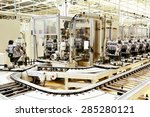 production line for... | Shutterstock . vector #285280121