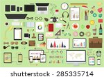 vector design illustration of... | Shutterstock .eps vector #285335714