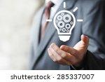 Business Idea Bulb Gear Web...