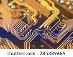 circuit board digital highways  ... | Shutterstock . vector #285339689