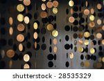different coin like decorations ... | Shutterstock . vector #28535329