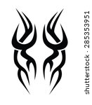 tribal tattoos. tattoo tribal... | Shutterstock .eps vector #285353951