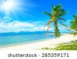 Beautiful Tropical Beach...
