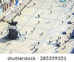 People At Ban Jelacic Square I...