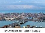Panorama Of Golden Horn Galata...