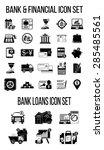 set of finance   banking icons. ... | Shutterstock .eps vector #285485561