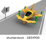 aliens need gas | Shutterstock . vector #2854900