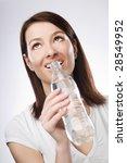 young beautiful brunette woman... | Shutterstock . vector #28549952