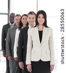 female business leader with...   Shutterstock . vector #28550063