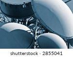 communications details blue tone | Shutterstock . vector #2855041