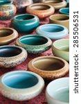 Decorated Pottery On Panjiayua...