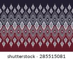 abstract geometric  ethnic... | Shutterstock .eps vector #285515081