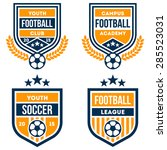 football badge set | Shutterstock .eps vector #285523031