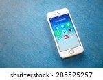 rayong  thailand   june 03 ... | Shutterstock . vector #285525257