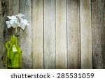 still life plastic white... | Shutterstock . vector #285531059