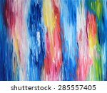 oil color background for your... | Shutterstock . vector #285557405